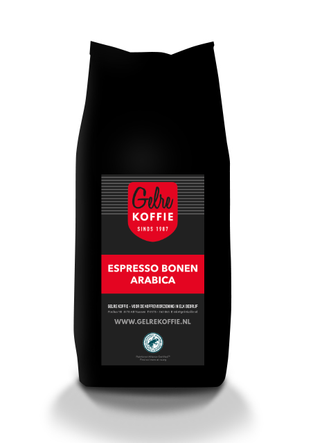 Gelre espresso bonen Arabica Rainforest
