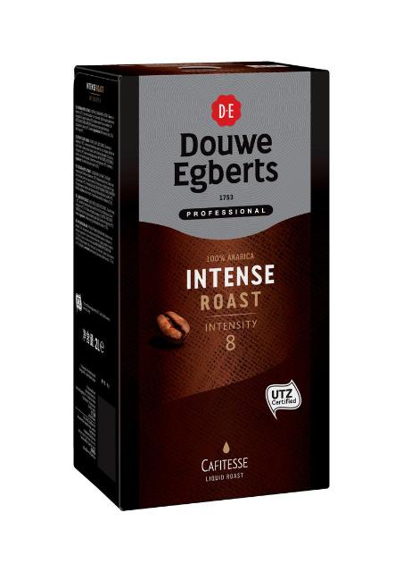 Douwe Egberts Cafitesse intense roast UTZ 2lt