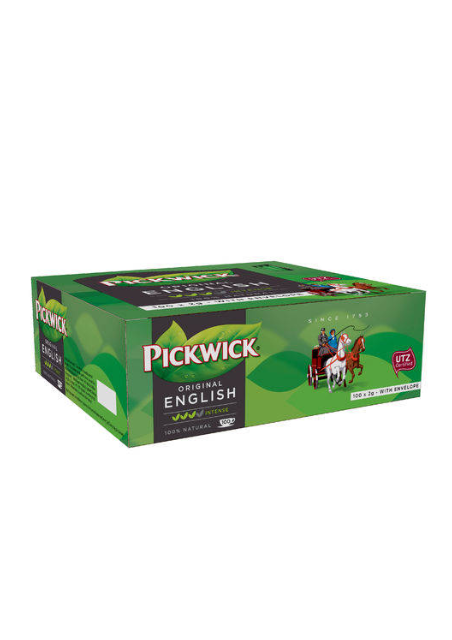 Pickwick Engelse thee met envelop UTZ 2gr