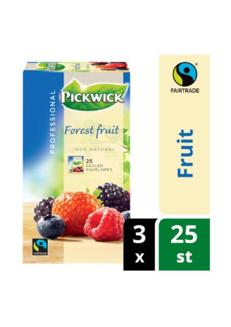 Pickwick Professional bosvruchten fairtrade 1,5gr