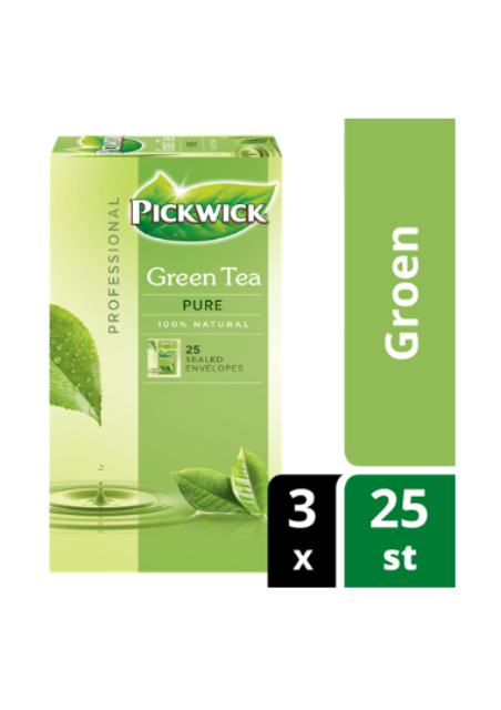 Pickwick Professional groene thee pure 1,5gr