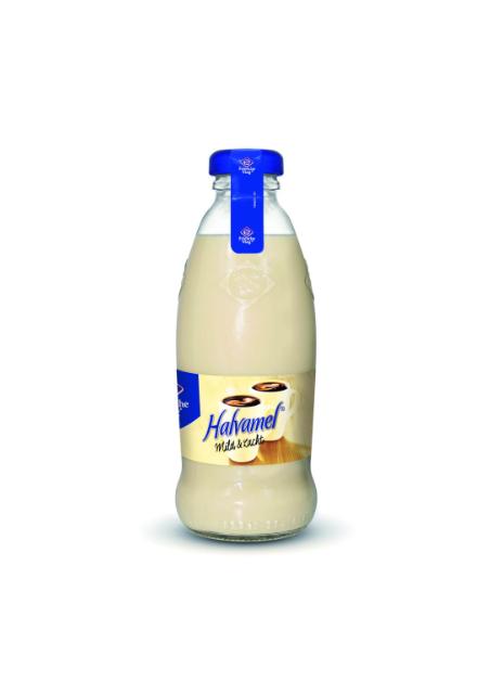 <br /> Friesche Vlag Halvamel fles 186ml
