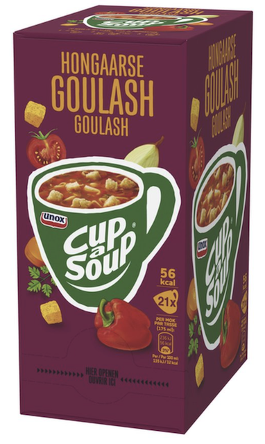 Hongaarse Goulash 21 sachets Cup a Soup.