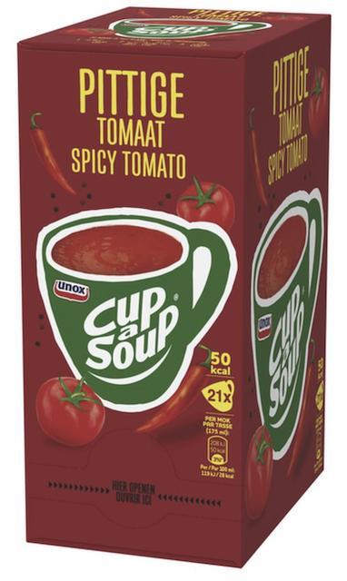 Pittige tomaat 21 sachets Cup a Soup.