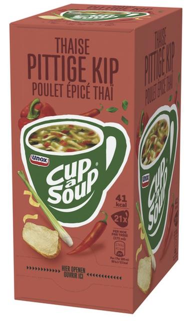 Thaise pittige kip 21 sachets Cup a Soup.