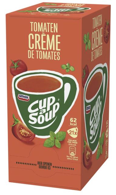 Tomaten creme 21 sachets Cup a Soup.