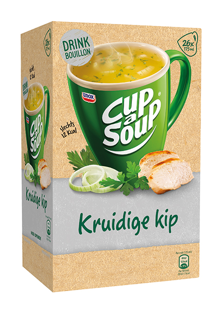 Kruidige Kip helder 26 sachets Cup a Soup.
