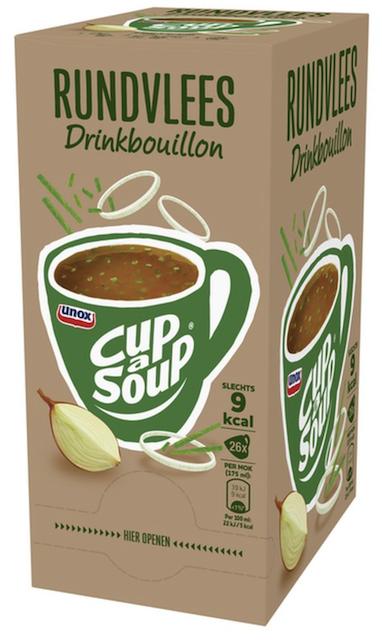 Runderbouillon Bieslook helder 26 sachets Cup a Soup.