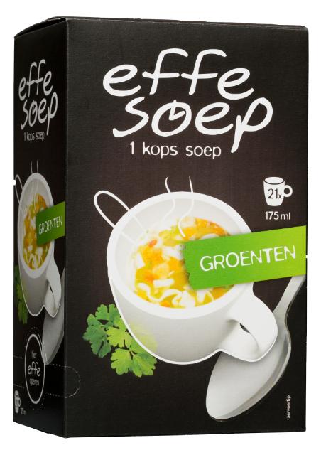 Groente 21 sachets Effe Soep.