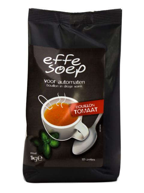 Tomaat automatenbouillon 1000 gram Effe Soep