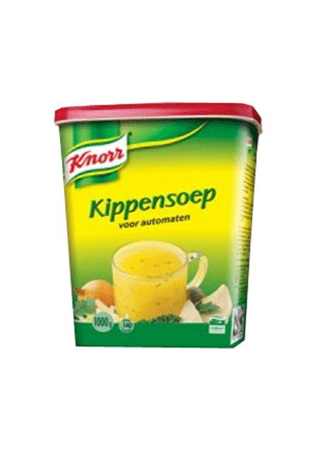Knorr Automaten kippensoep bus 1kg