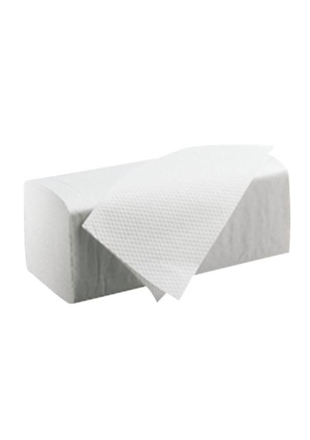Z vouwhandoekjes 2 laags wit 20x160 st. 22x32 cm