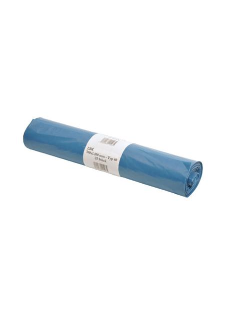 Vuilniszak blauw 70 x 110 cm