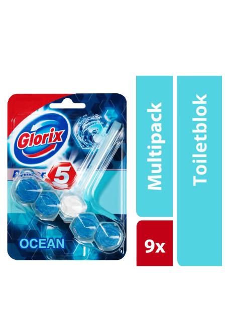 Glorix Power 5 Ocean toiletblok